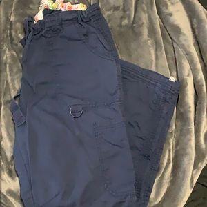Koi size Medium dark blue scrub pants